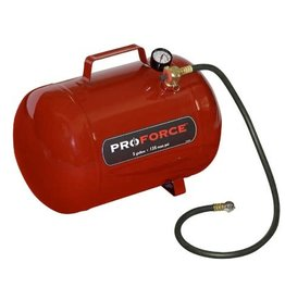 Air Tank, 5-Gal. Pro Force with Hose and Gauge