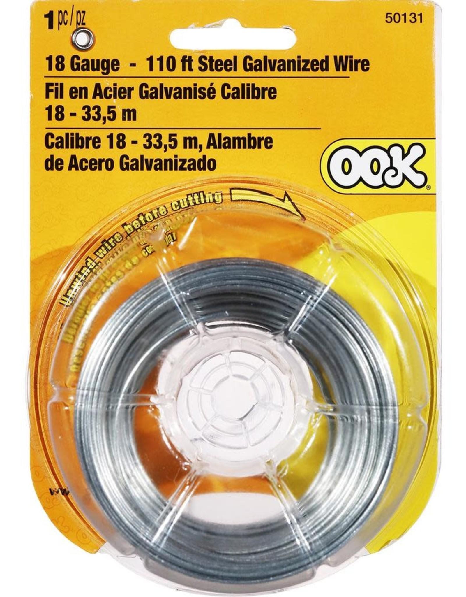 Ook Galvanized Wire 110 ft. 18 gauge