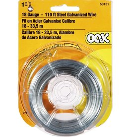 Ook Galvanized Wire 110 ft. 18 gauge
