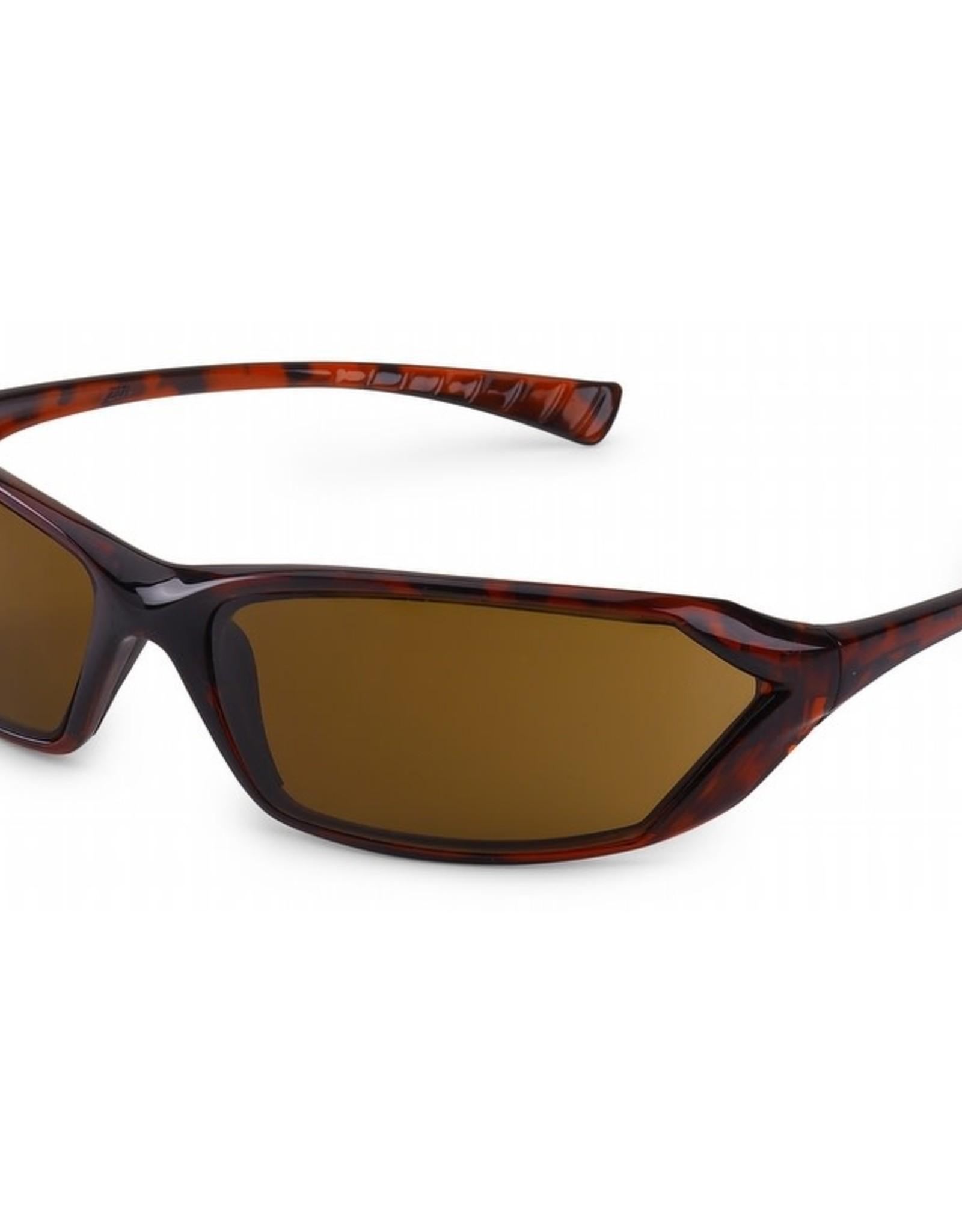 Gateway Metro Safety Glasses - Tortoise Shell Frame with Mocha Lens, 23TS86