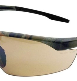 Gateway Conqueror Safety Glasses, Universal, Scratch Resistant Bronze Mirror Lens, Half-Frame, 28CM5M