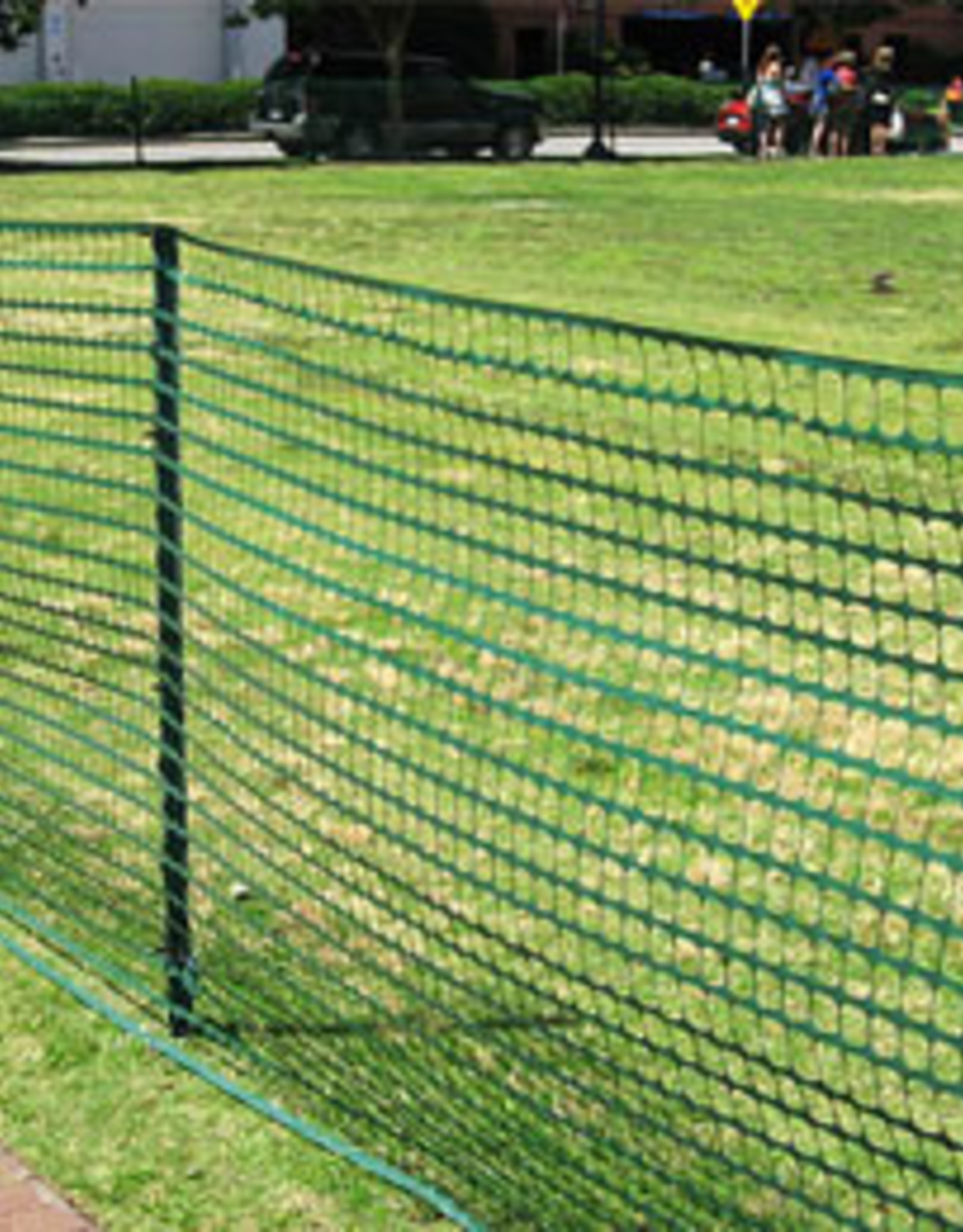 Safety Fence, 8 lb. Light Weight, Green or Orange, SZ. 4' x100'