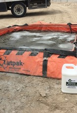 Outpak Corrugated & All Weather Washouts, 140 Gallons