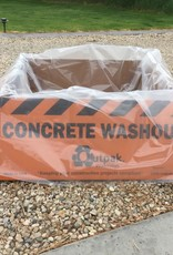 Corrugated & All Weather Washouts, 140 Gallons