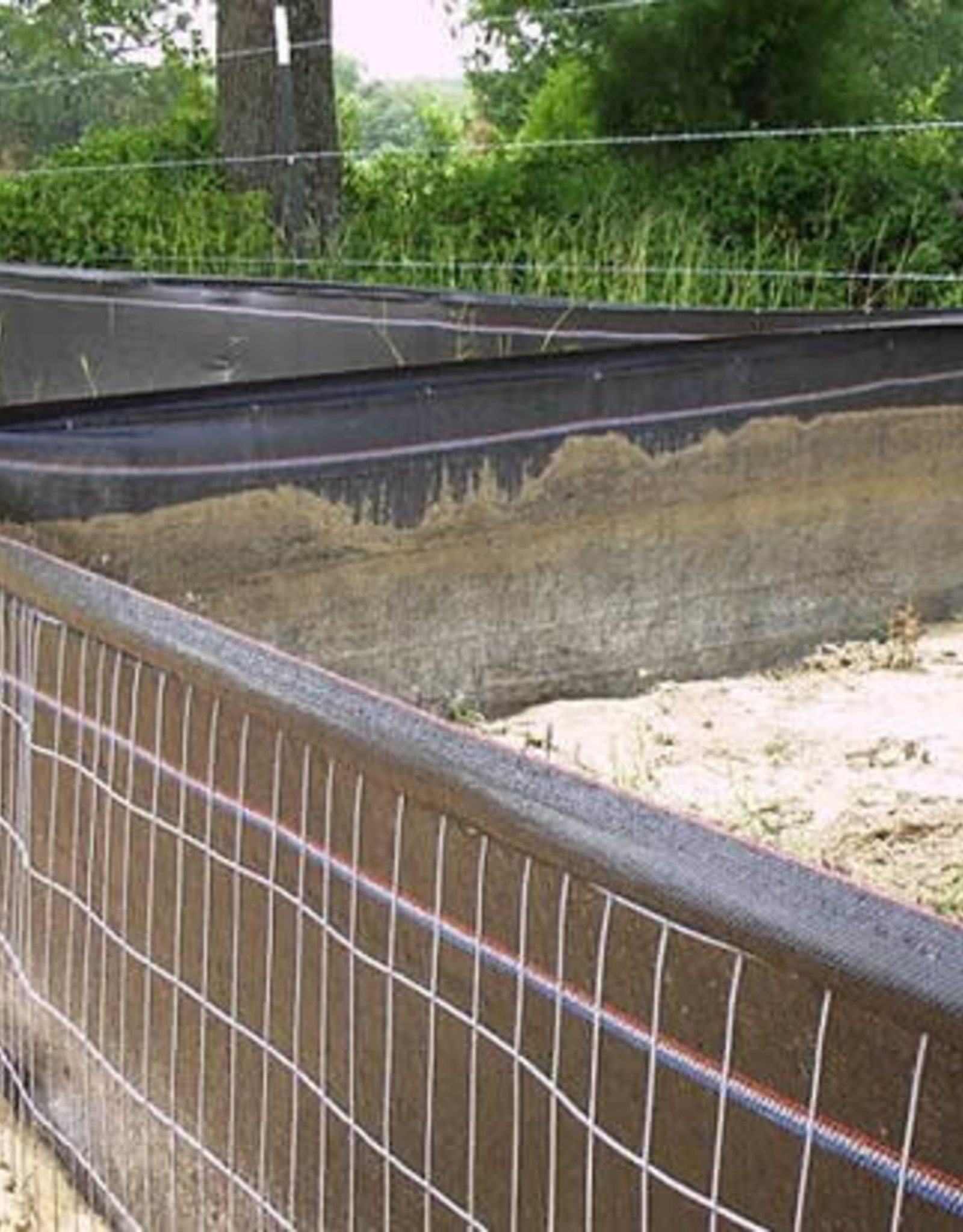 Wire Backed Silt Fence Various Options Silt Management Supplies Llc