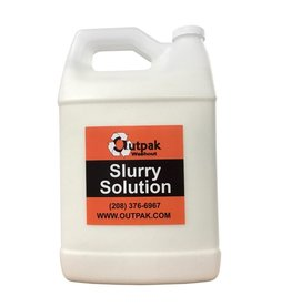 Outpak Case of Slurry Solution, Qty. of (4) 7 lb. Bottles
