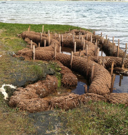 Coconut Coir Log With Natural Net
