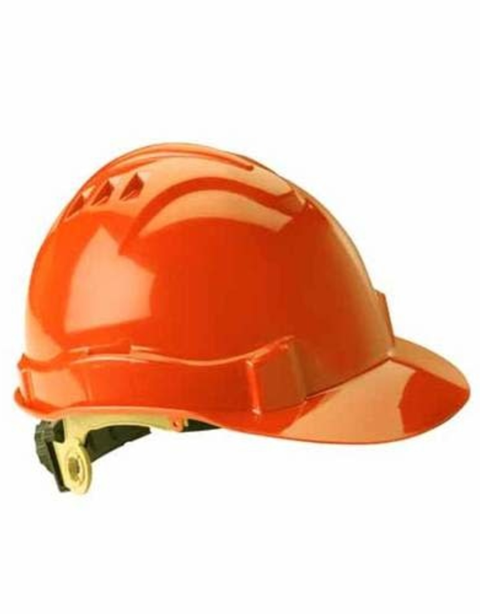 Gateway Serpent Safety Helmet, Ratchet Suspension, Orange Shell