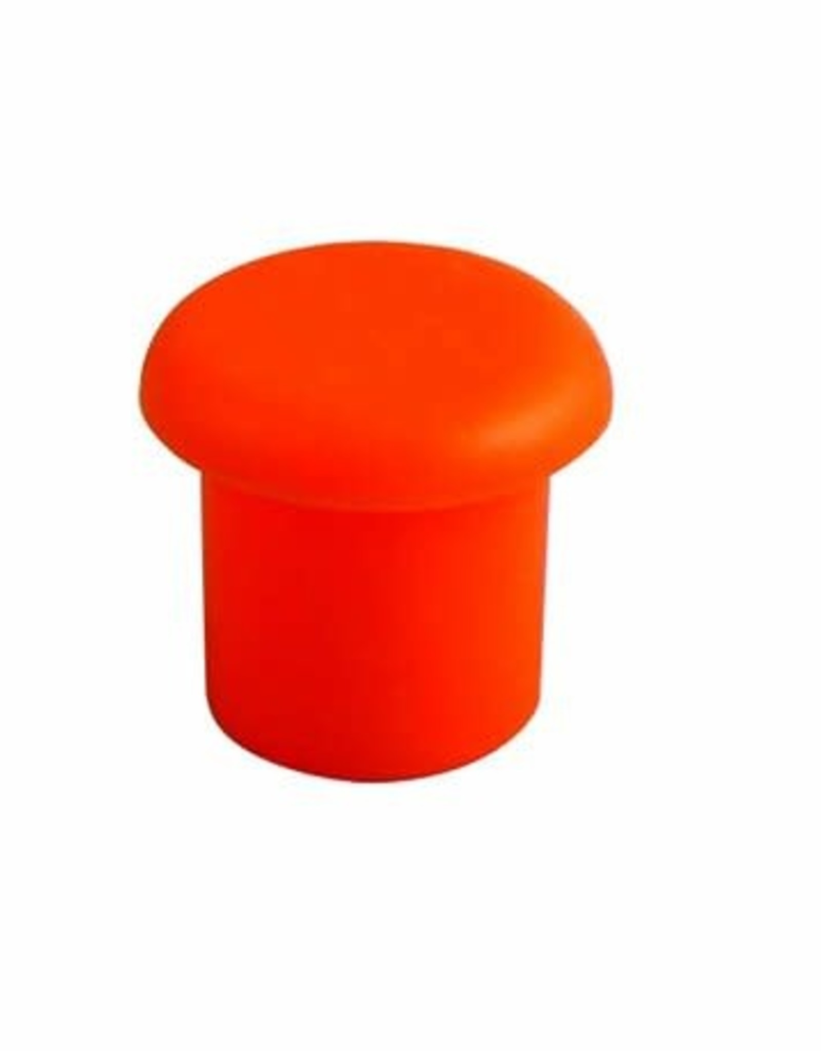 Econ-O-Guard Mushroom Top Safety Caps, Orange