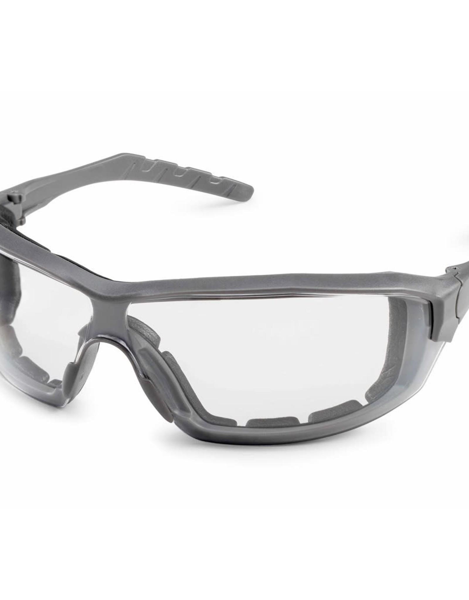 Gateway Silverton Clear Safety Glasses, Clear fX2 Anti-Fog Lens