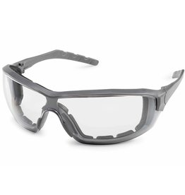 Silverton Clear Safety Glasses, Clear fX2 Anti-Fog Lens