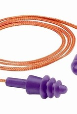 Gateway Twisters Triple-Flanged Corded Earplugs, Individual