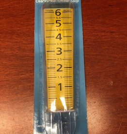 2702-35 Rain Gauge, 0 to 5 in., Polycarbonate