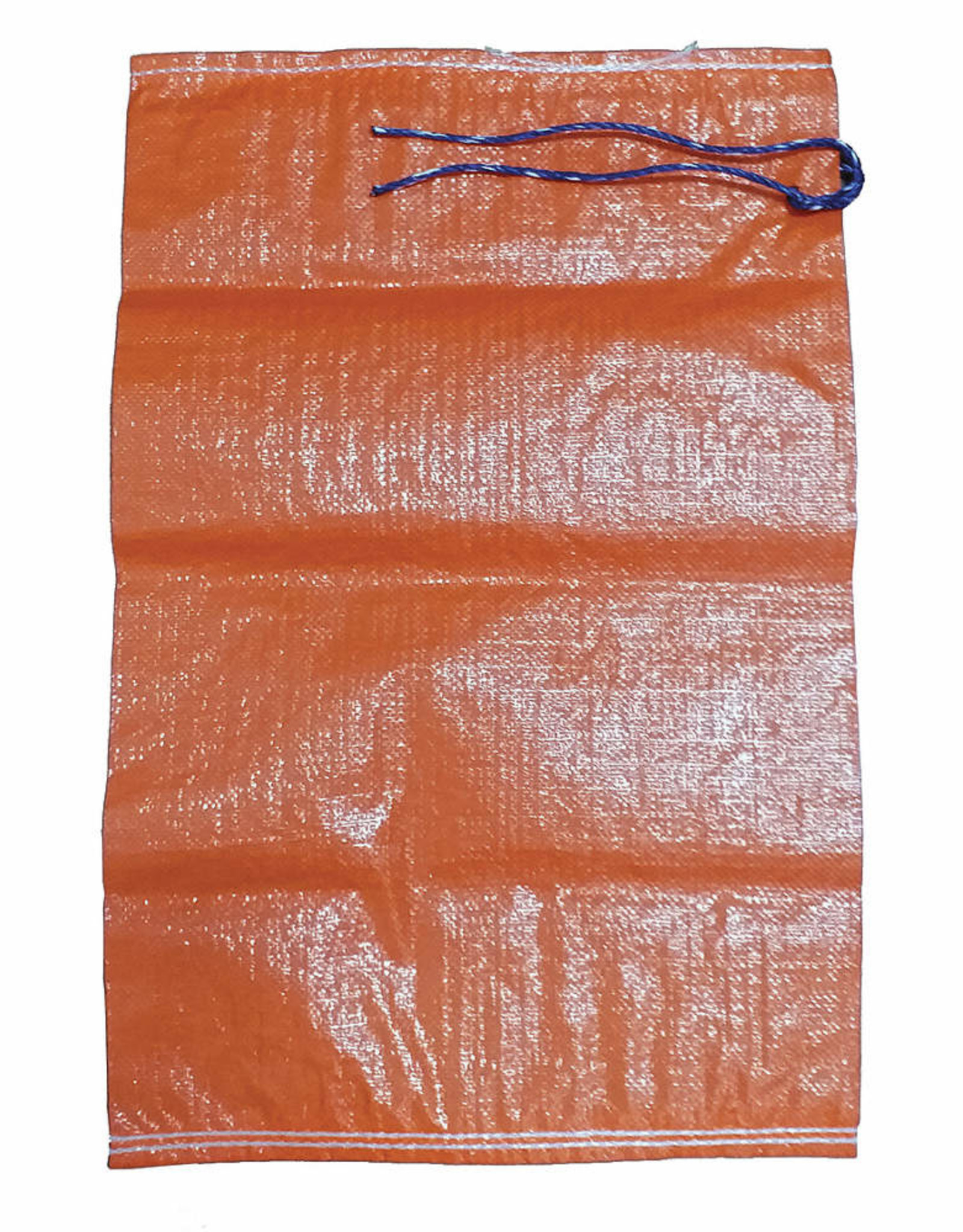 "Individual Sand Bag, SZ. 14"" x 26"", Orange Woven Polypropylene"