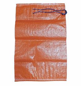 "Sand Bag, SZ. 14"" x 26"", Orange Woven Polypropylene"
