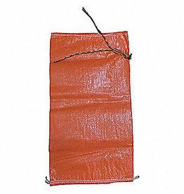 "Sand Bag, SZ. 14.5"" X 26"" Orange LM Woven Polypropylene"