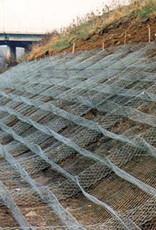 Gabion Woven Wire Mattress, SZ. 12' x 6' x 1',  Galvanized