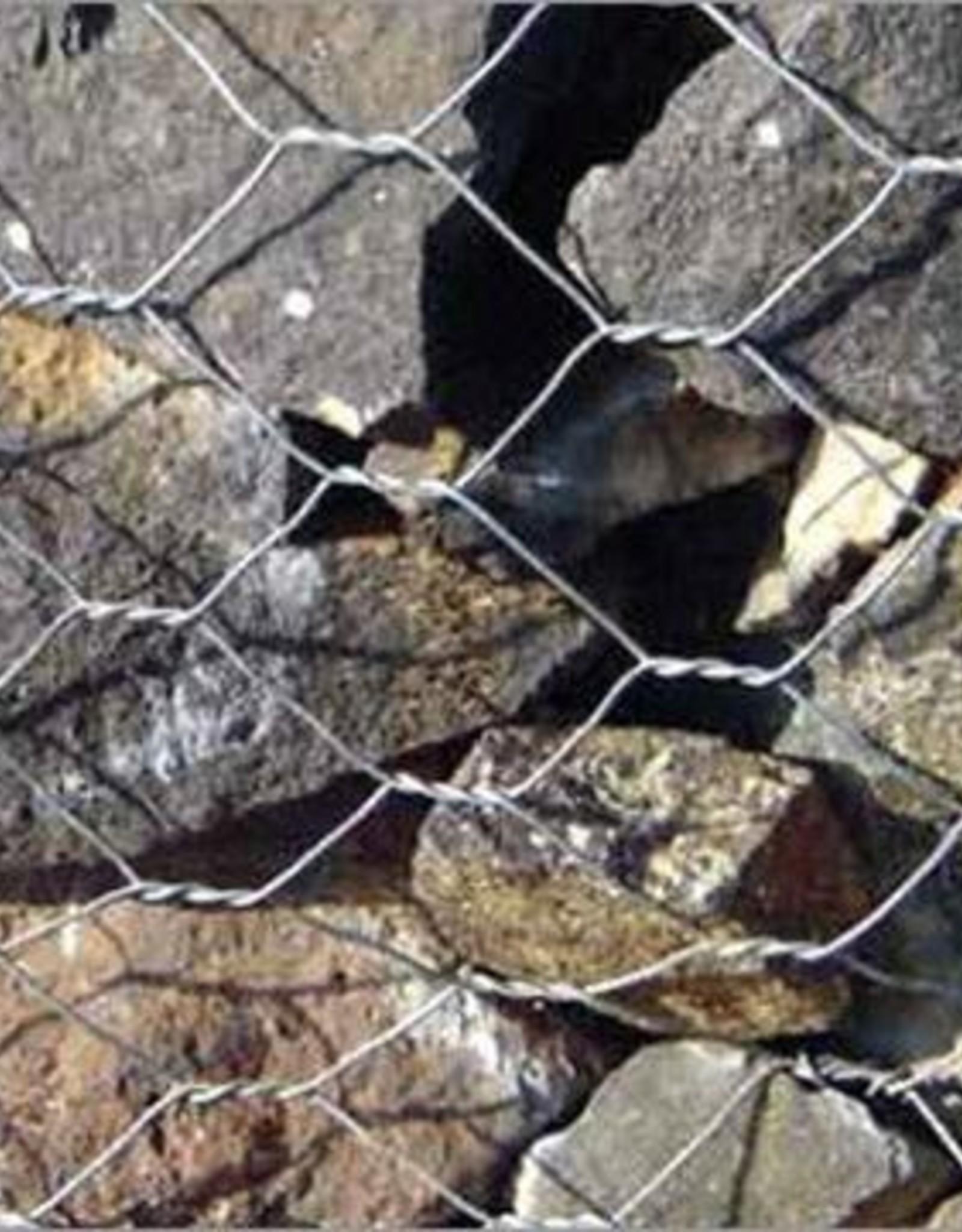 Gabion Woven Wire Basket, SZ. 12' x 3' x 3', PVC Coated
