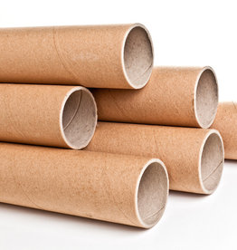 "Cardboard Shipping Tube, 3"" x 37"" x .375 Thickness"