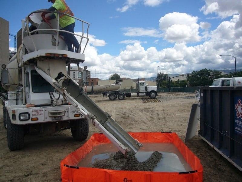 PVC Concrete Washout