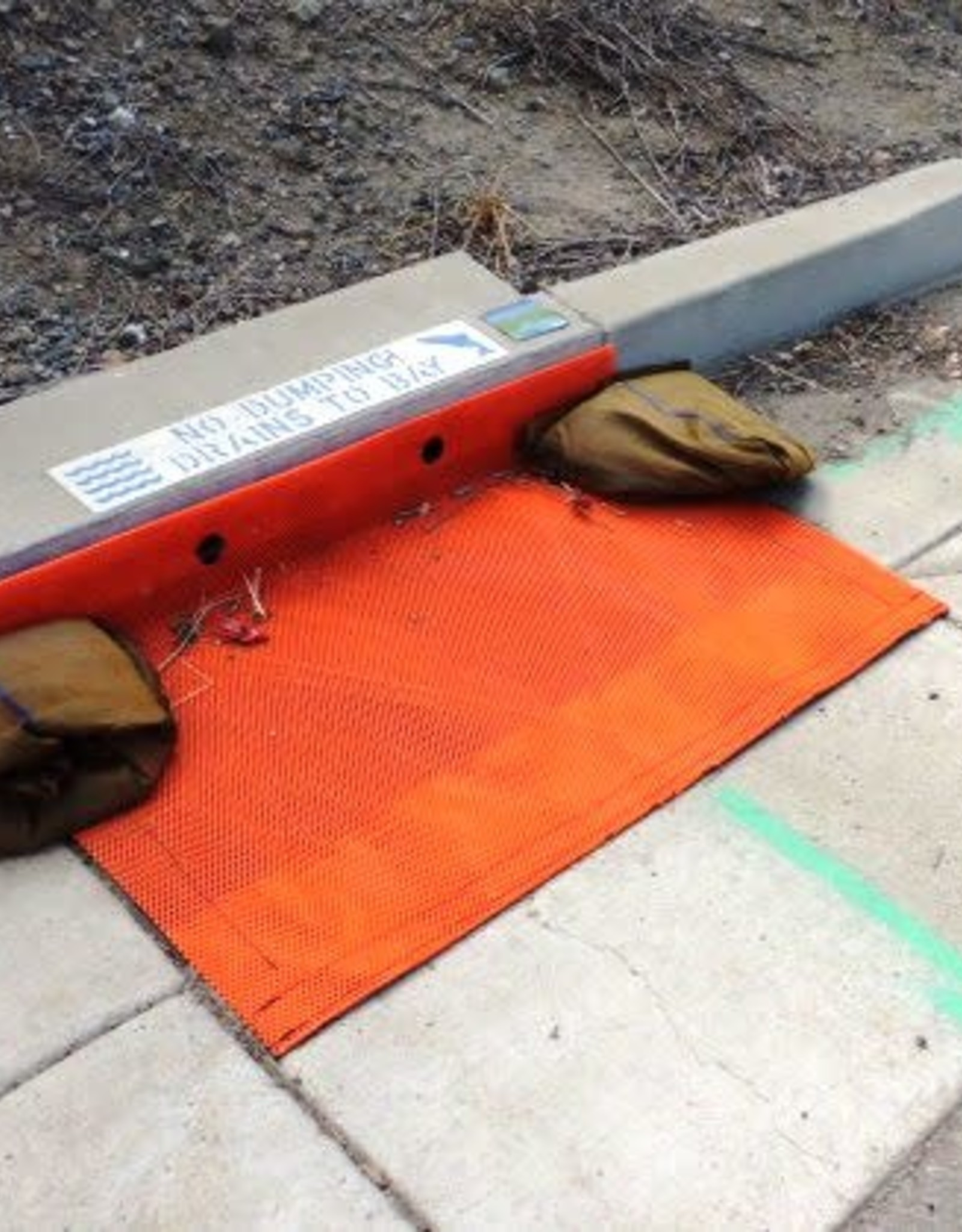 ERTEC Combo Guard - Protection for Combination Curb & Grate Inlets