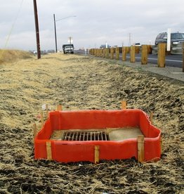 ERTEC Drop Guard, Protection for Drop Inlets in Unpaved Areas