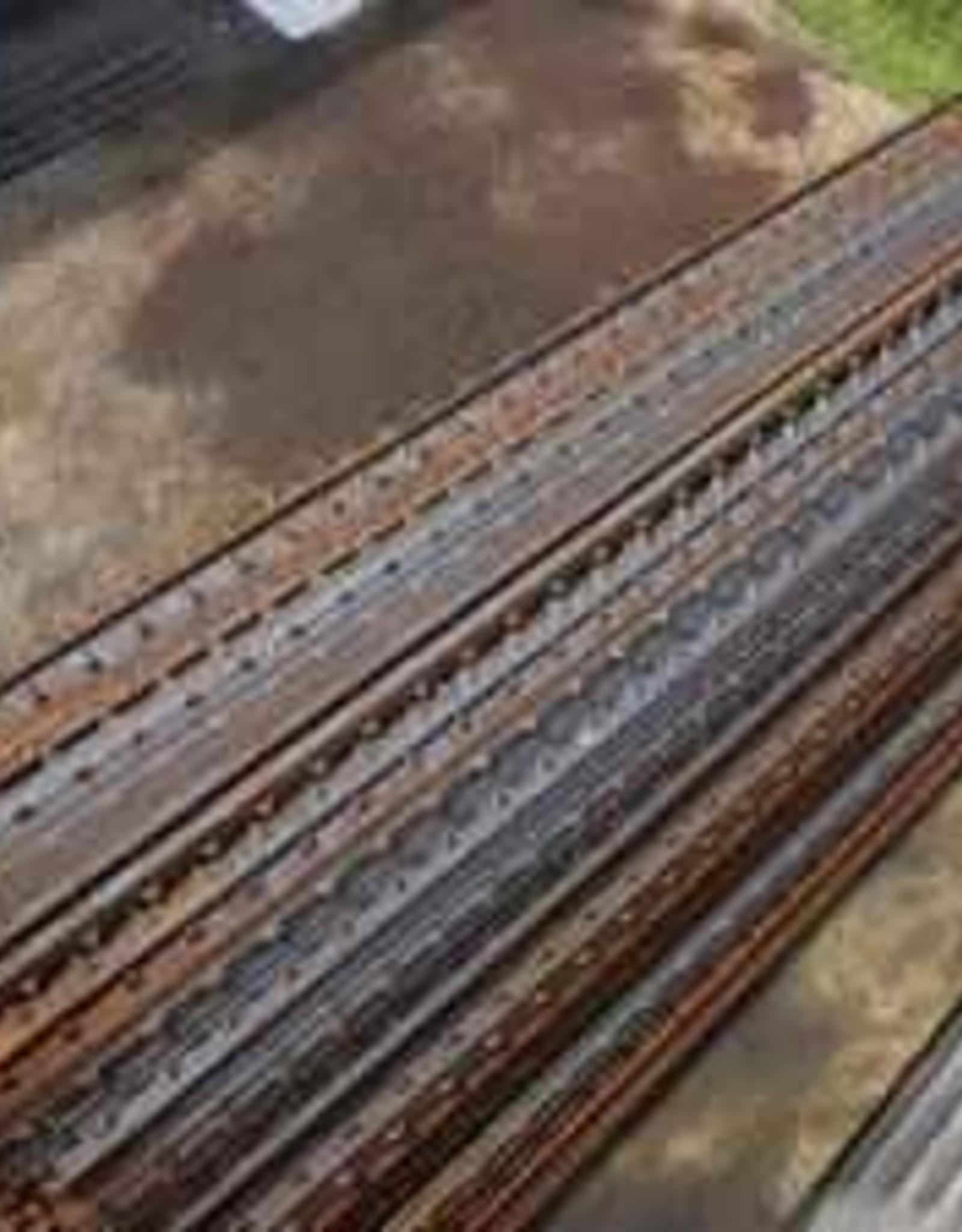 T-Posts, Rail Steel 6 ft. (1.33#), Raw / No Spade