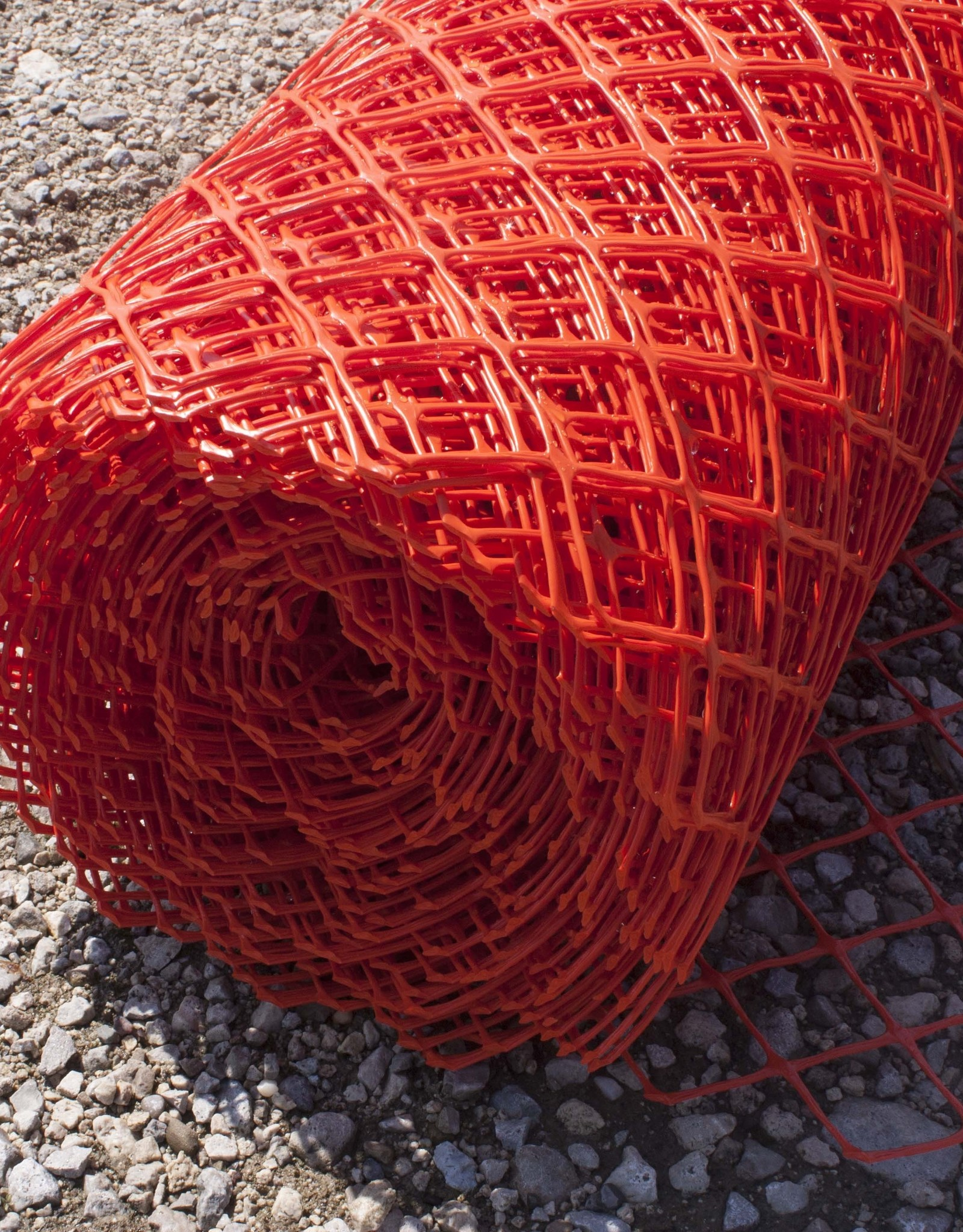 Diamond Mesh Fence, Orange, Heavy Duty 28 lbs., SZ. 4' x 100'
