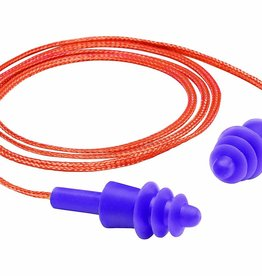 Gateway Twisters Triple-Flanged Corded Earplugs, 100 ct. box