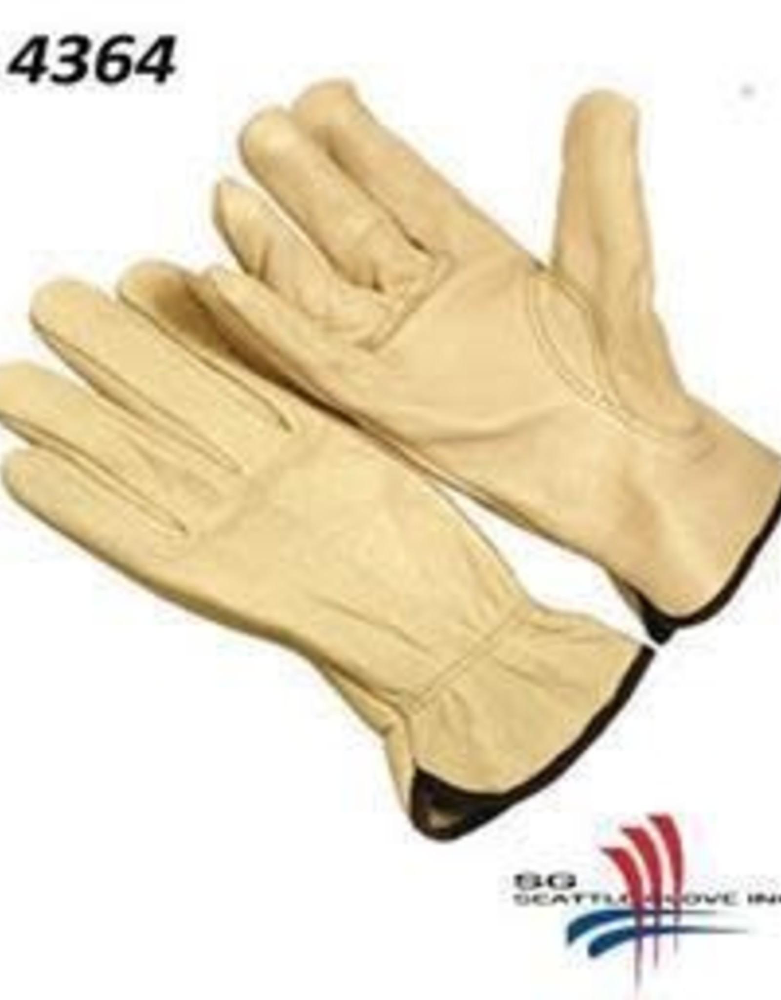Seattle Cowhide Leather Driver Gloves Large, Per Dozen