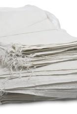"""250 Sand Bags,  White Woven Polypropylene, SZ. 14"""" x 26"""""""