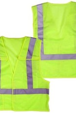 Seattle Safety Vest, Lime Point Break Away, Class II,  Various Sizes