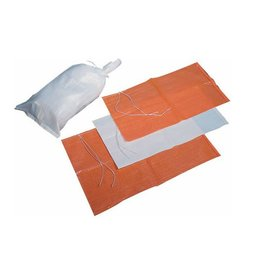 "1000 Sand Bags,  Orange Woven Polypropylene, SZ. 14"" x 26"""