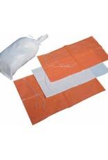 """1000 Sand Bags, White Woven Polypropylene, SZ. 14"""" x 26"""""""