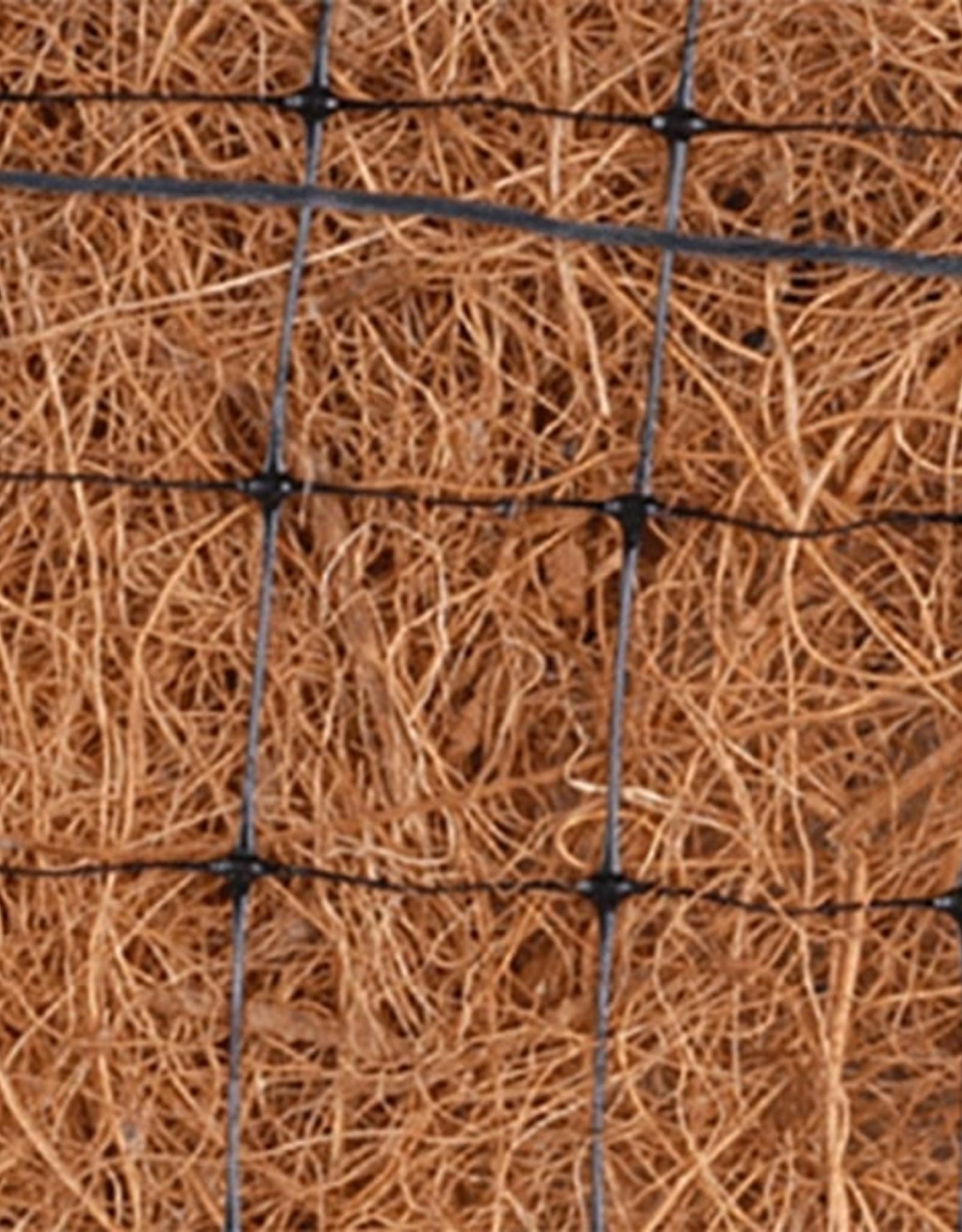 Double Net 100% Coconut Erosion Control Blanket-US-2C, SZ. 8' x 112.5'