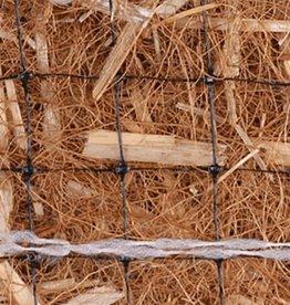 Double Net, 70% Straw/ 30% Coconut Erosion Control Blanket-US-2SC, SZ. 8' x 112.5'