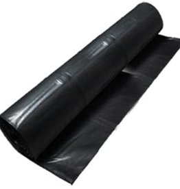 Black Poly Sheeting 10 mil, SZ. 20' x 100'