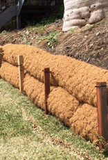 "Coconut Coir Log With Natural Net, SZ. 9"" x 10'"