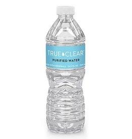 True Clear Purified Bottled Water, 16.9 fl oz Bottles, 24/Carton, 84 Cartons/Pallet