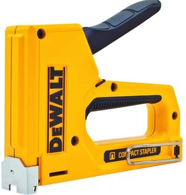 Dewalt Staple Gun, Manual, Heavy Duty, Narrow Crwn.