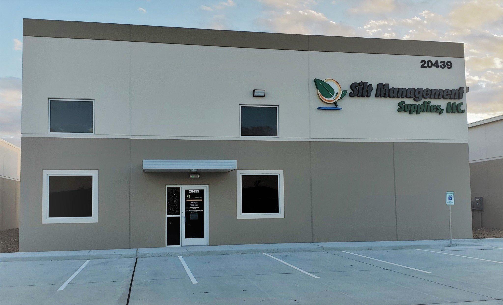 Silt Management Supplies' Warehouse