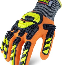 Ironclad Kong Cut Resistant Chemical Impact Coated Gloves, SZ. XL
