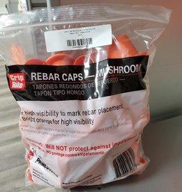 Safety Caps Mushroom 25 ct. Bag - Grip Rite