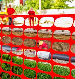 Safety Fence, 12lb. Orange, Medium Weight