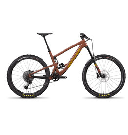 SANTA CRUZ Santa Cruz Bronson - L Red Tide -  Alloy S Kit