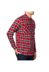 FOX Fox Fusion Tech Flannel Cardinal Red