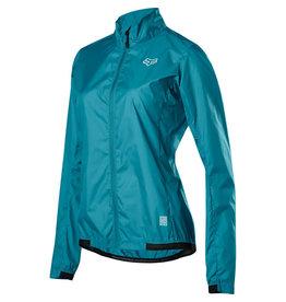 FOX Women's Defend Wind Jacket Aqua