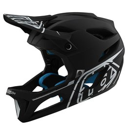 Troy Lee Designs Stage Helmet Blk/Slv