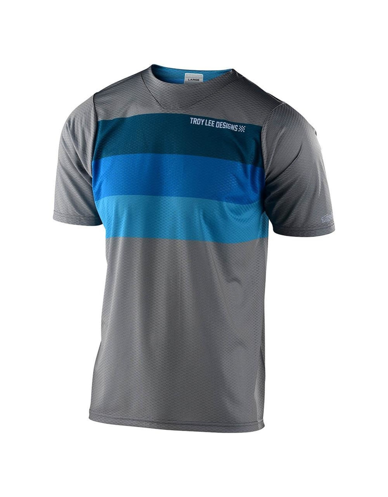 Troy Lee Designs Skyline Air SS Jersey Gry/Blu