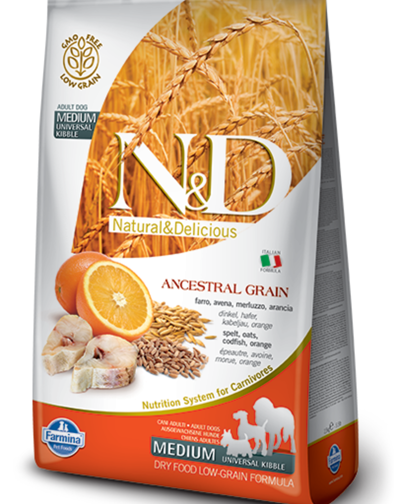 Farmina Farmina Ancestral Grain Cod & Orange 5.5#